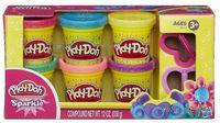 "Тесто для лепки ""Play-Doh. Блестящая коллекция"" (6 цветов)"