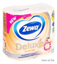 "Туалетная бумага Zewa Deluxe ""Aroma Spa""(4 рулона)"