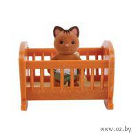 """Игровой набор """"Малыш котенок с кроваткой"""""""