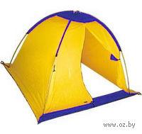 Палатка рыбака (желто-синяя)