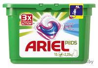 """Гель для стирки в капсулах Ariel """"Touch of Lenor Fresh"""" (15 шт.)"""