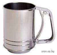 Сито металлическое механическое (10*13 см, арт. KL33H02)