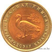 10 рублей - Краснозобая казарка