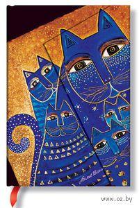 """Записная книжка Paperblanks """"Кошки Средиземноморья"""" в линейку (формат: 100*140 мм, мини)"""