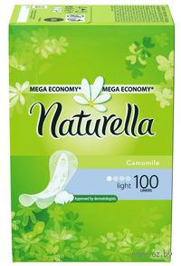 Женские гигиенические прокладки на каждый день NATURELLA Light Deo (100 штук)