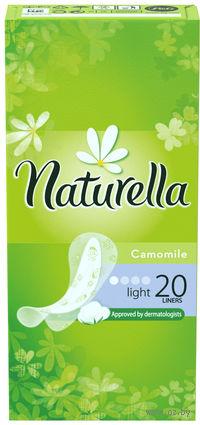 Женские гигиенические прокладки на каждый день NATURELLA Light Deo (20 штук)