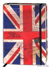 """Записная книжка """"Флаги мира. Великобритания"""" (А6, 80 листов)"""