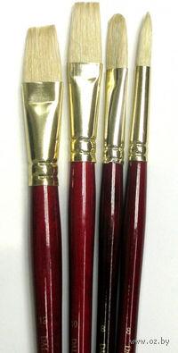 """Набор кистей """"Simply"""" с длинной ручкой (щетина, 4 шт) 2"""
