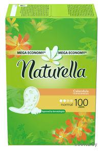 Женские гигиенические прокладки на каждый день NATURELLA Calendula Tenderness Normal (100 шт)