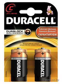 Батарейка DURACELL C LR14 MN1400 Alkaline (2 штуки)