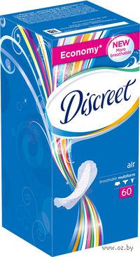 Женские гигиенические прокладки DISCREET Air (60 штук)