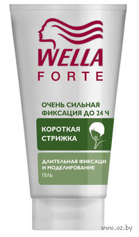 """Гель для волос Wellaforte """"Очень сильная фиксация"""" (150 мл)"""