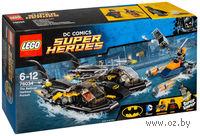 """LEGO. Super Heroes. """"Погоня в бухте на Бэткатере"""""""