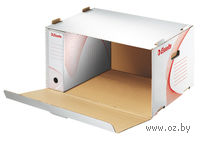 Бокс для архивных коробок (563х370х260 мм, крышка сбоку)