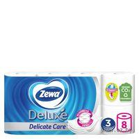 Туалетная бумага Zewa Deluxe (цвет: белый; 8 рулонов)