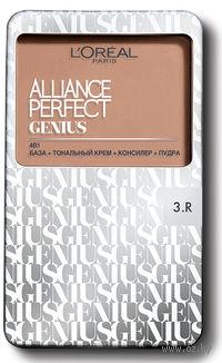 """Тональное средство """"Alliance Perfect Genius 4в1"""" (тон 3R, бежево-розовый; 7 г)"""