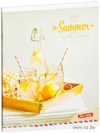 """Тетрадь в клетку """"Summer. Cool Time"""" (48 листов)"""