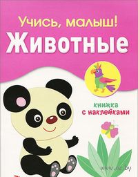 Животные. Книжка с наклейками