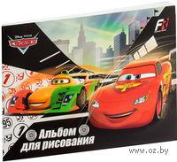 """Альбом для рисования """"Cars"""" (А5; 20 листов)"""