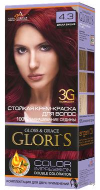 Крем-краска для волос (тон: 4.3, дикая вишня, 2 шт)