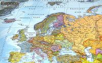 """Пазл """"Карта Европы"""" (49 элементов)"""