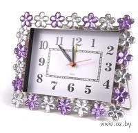 Часы настольные с будильником (15,5х11,5 см)