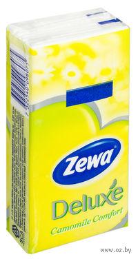 """Бумажные носовые платочки ZEWA """"Ромашка"""""""