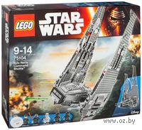 "LEGO. Star Wars. ""Командный шаттл Кайло Рена"""
