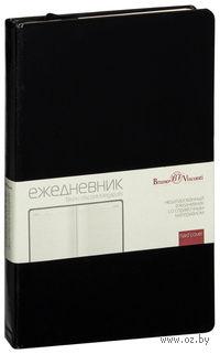 """Ежедневник недатированный """"Megapolis"""" (А5; черный)"""