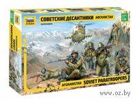 """Набор миниатюр """"Советские десантники. Афганистан"""" (масштаб: 1/35)"""