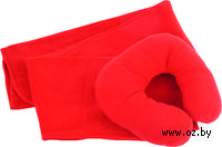 Дорожный набор для сна (2 предмета; красный)