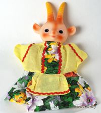 "Мягкая игрушка на руку ""Коза"" (25 см)"