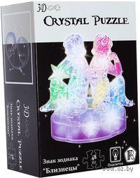 """Пазл """"3D Crystal Puzzle. Близнецы"""" (48 элементов)"""