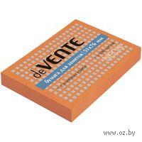 Стикеры (100 листов; 51х76 мм; неоновый оранжевый)