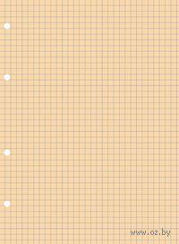 Блок сменный для тетрадей на кольцах (А5; 80 листов; персиковый)