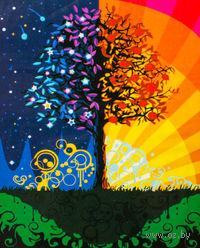 """Картина по номерам """"Дерево счастья"""" (400x500 мм; арт. MG224)"""