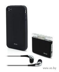 Аксессуары 5 в 1 для iPod/iPad/iPhone 4S/4/3GS (Black)