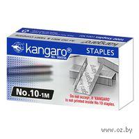 """Скобы 10 """"Kangaro""""(металлик; 1000 штук)"""