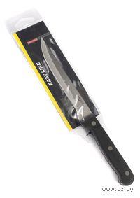 Нож кухонный металлический с пластмассовой ручкой (27/15 см)