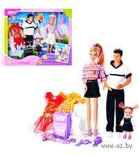 """Набор из 3 кукол """"Приятное путешествие"""""""