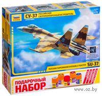 """Подарочный набор """"Самолет Су-37"""" (масштаб: 1/72)"""