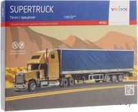 """Сборная модель из картона """"Supertruck. Тягач с прицепом"""""""
