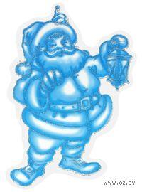 """Наклейки новогодние на окна """"Санта Клаус"""""""