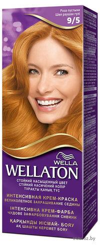 """Стойкая крем-краска для волос WELLATON """"9/5-Роза пустыни"""""""