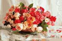 "Картина по номерам ""Корзинка с розами"" (500x650 мм; арт. MMC071)"