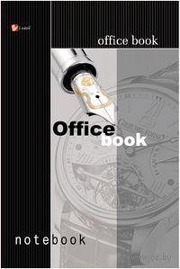 """Книга для записей """"Офисный стиль. Перо"""" А5 в клетку (80 листов)"""