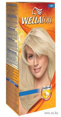 """Крем-краска для волос WELLATON """"12/1 Яркий пепельный блондин"""""""