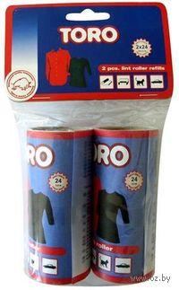 Ролик для чистки одежды сменный пластмассовый (2 шт.; 100 мм)