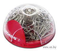 Диспенсер магнитный для скрепок (+ скрепки 100 шт)