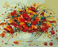 """Картина по номерам """"Весенний вальс"""" (400х500 мм)"""
